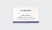 Fascinating Business Cards Of The World's Most Famous People - DesignTAXI.com