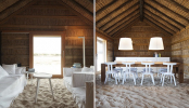 A Rustic Sandy-Floored Hotel Brings The Beach Indoors - DesignTAXI.com