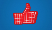 Facebook's Iconic 'Like' Symbol, Re-Imagined In Superhero Style - DesignTAXI.com