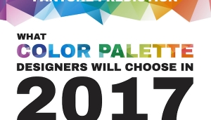 pantone prediction of color palettes for designers in 2017